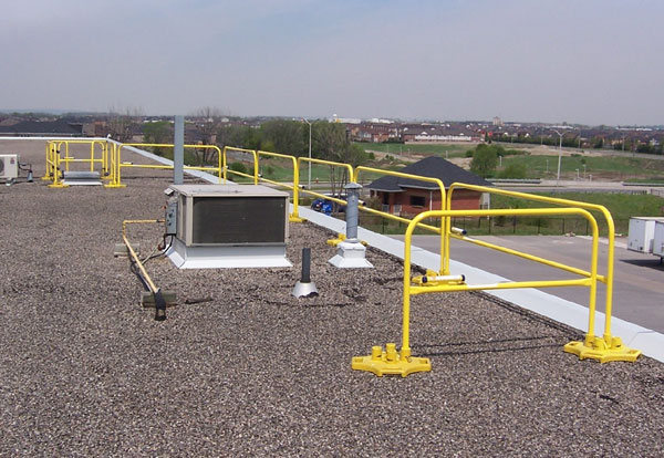 Custom Rooftop Fall Protection by Ark Safety