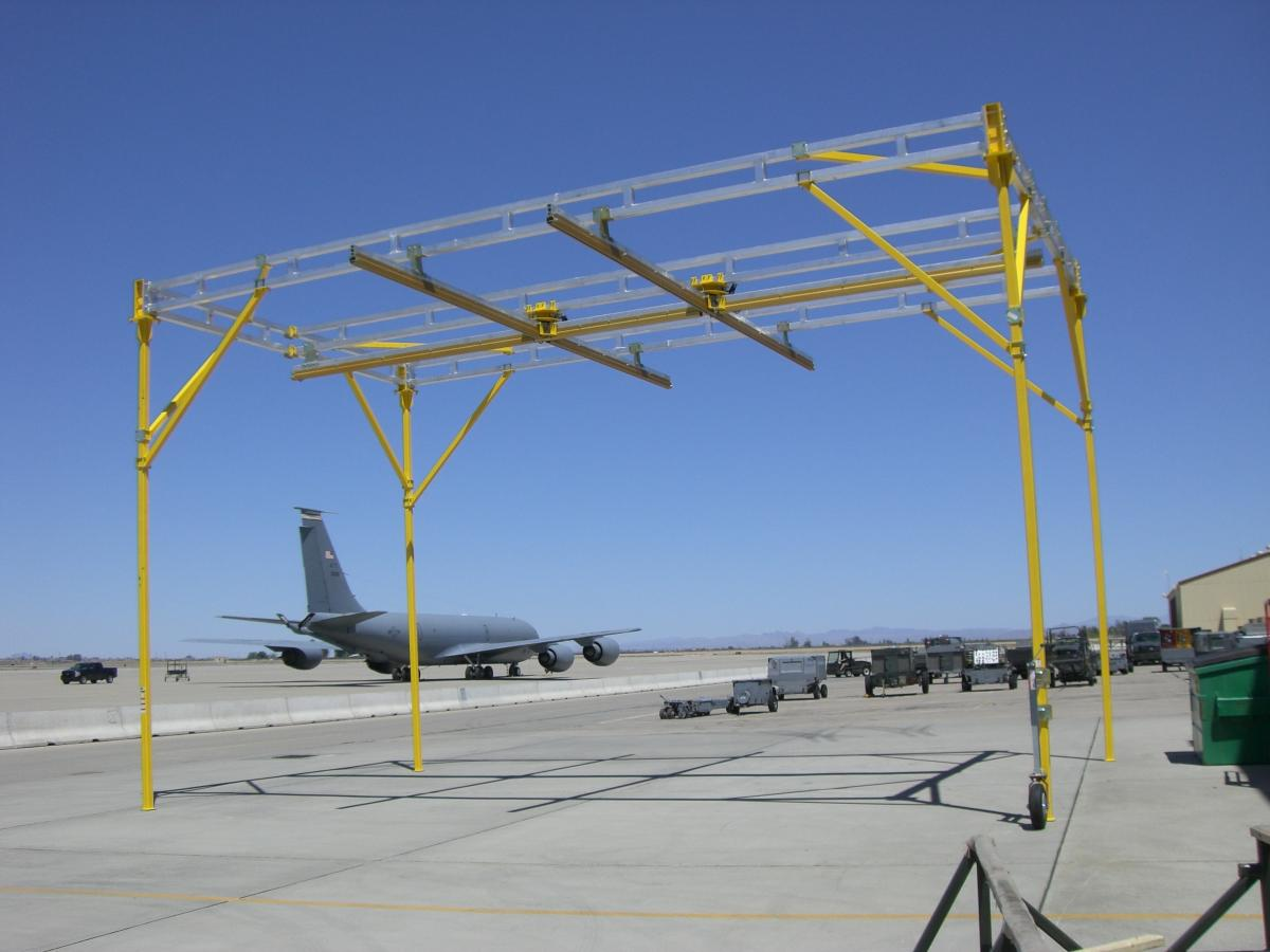 Fall Protection Systems for Military Aircraft by Ark Safety