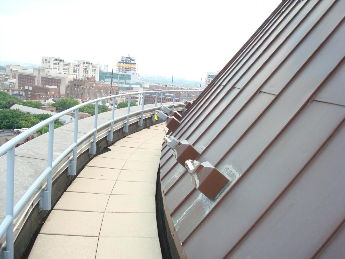 Roof Top Fall Protection Systems by Ark Safety