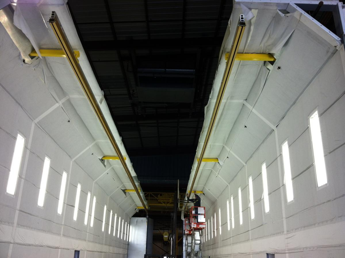 Overhead Fall Protection Systems by Ark Safety