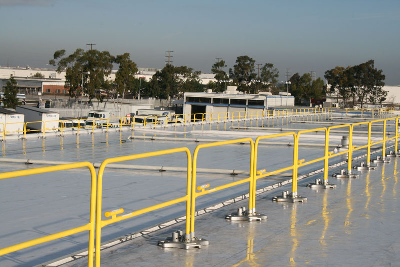 Customized Rooftop Fall Protection Systems