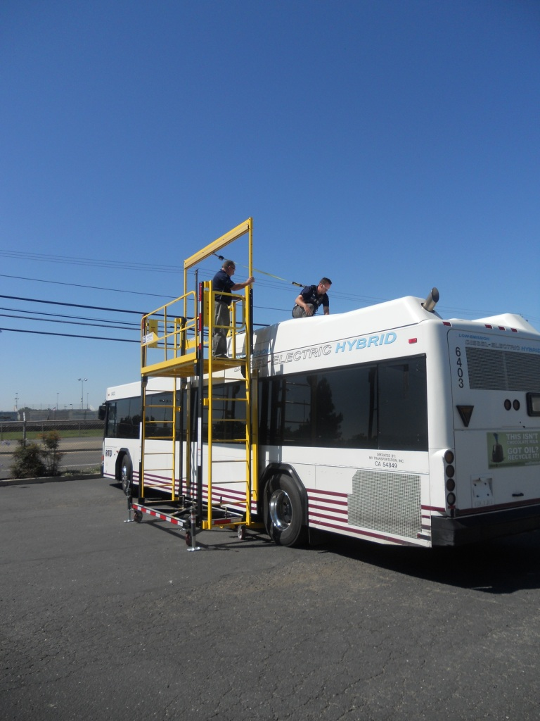 Transportation Industry Portable Fall Protection Solutions