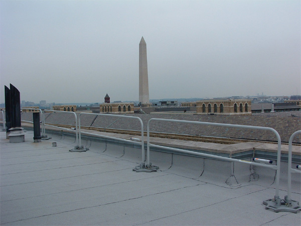 Rooftop Fall Protection Systems Guardrails