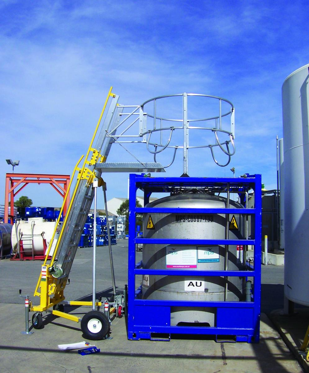 Transportation Industry Portable Fall Protection Systems